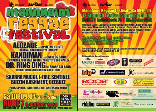 Mannheim Reggae Festival