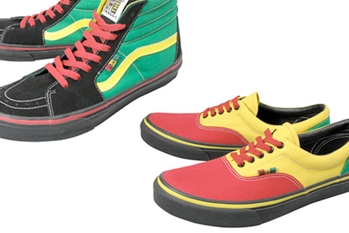 9c23c1c2a4ecac Vans Rasta Pack • SEEN • nice reggae and dancehall t-shirts since 2004